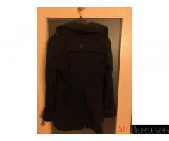 Dámský kabát černý