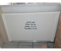 Elektrické topení s termostatem