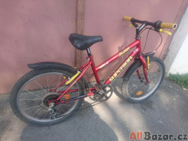 Dětské kolo s přehazovačkou pro 4 - 10 let