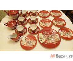 Čínský porcelánový servis