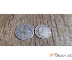 20 krejcar 1870kb vzacny +10 krejcar 1870kb Vzacny