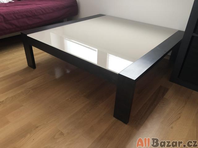 konferenční designový stůl - wenge/satinato