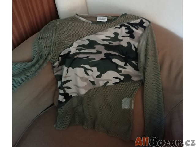 síťované tričko PIMKIE