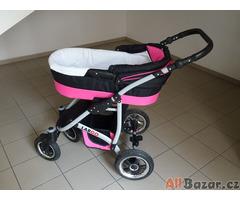 Prodám kočárek Baby Lux Largo, dvojkombinaci .