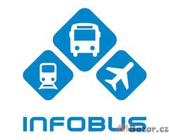 INFOBUS -  služba pro vyhledávání a nákup jízdenek.