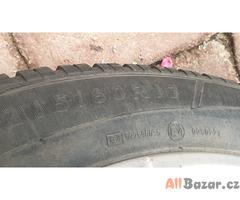 Sada zimních pneu na hliníkových ráfcích pro audi Q3