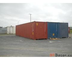 Ojetý a nový 20 'a 40' námořní kontejner