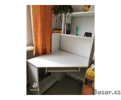 PC stolek rohový