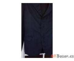 Pánský tmavě modrý oblek